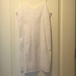 Rag & Bone White Eyelet Sundress Casual Dress